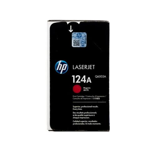 Original HP 124A Magenta Q6003A LaserJet Toner Cartridge