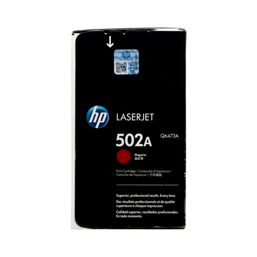Original HP 502A Magenta Q6473A  LaserJet Toner Cartridge