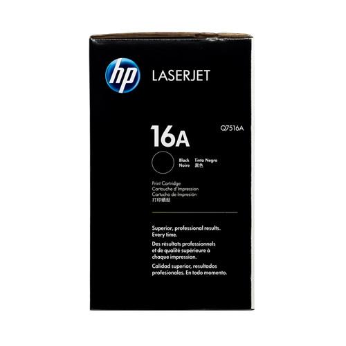 Original HP 16A Q7516A Black LaserJet Toner Cartridge