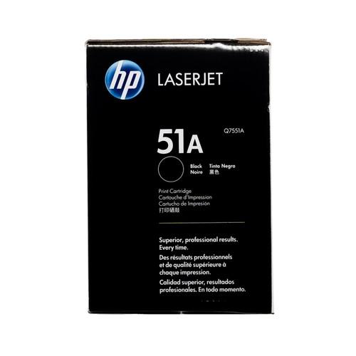 Original HP 51A Q7551A Black LaserJet Toner Cartridge