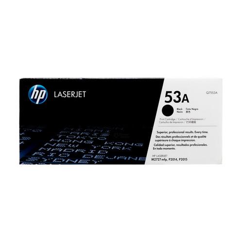 Original HP 53A Q7553A Black LaserJet Toner Cartridge