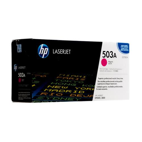 Original HP 503A Magenta Q7583A LaserJet Toner Cartridge