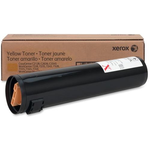 006R01178   Original Xerox WorkCentre C2421/3545 Laser Toner Cartridge - Yellow