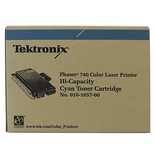 Original Xerox Hi-Capacity 016-1657-00 Phaser 740/740l Cyan Toner Cartridge