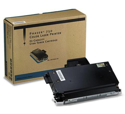 Original Xerox 016-1800-00 Phaser 750 Cyan Hi-Capacity Toner Cartridge