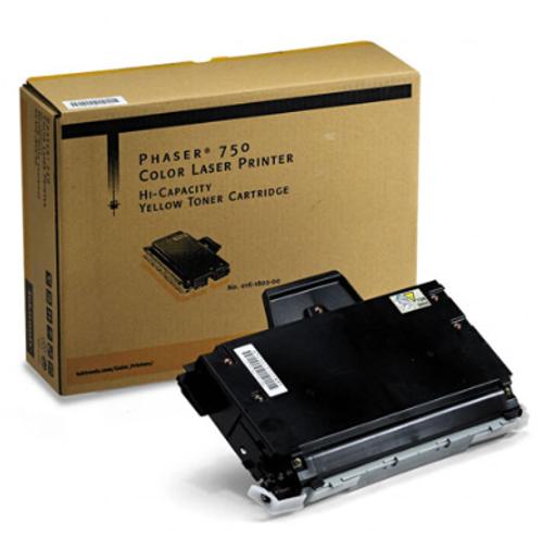 Original Xerox 016-1802-00 Phaser 750 Yellow High Capacity Toner Cartridge