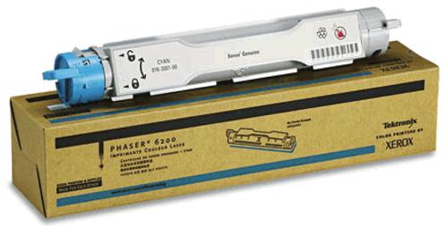 Original Xerox 016-2001-00 Phaser 6200 Cyan Toner