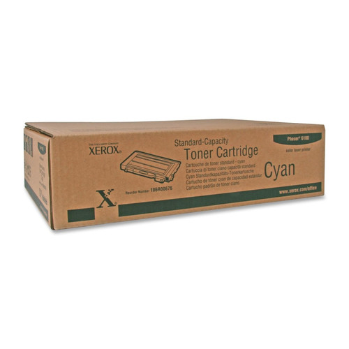 106R00676 | Original Xerox Color Laser Cartridge - Cyan