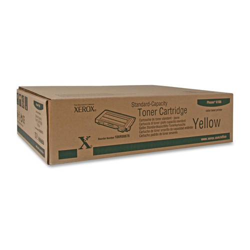 106R00678 | Original Xerox Color Laser Toner Cartridge - Yellow