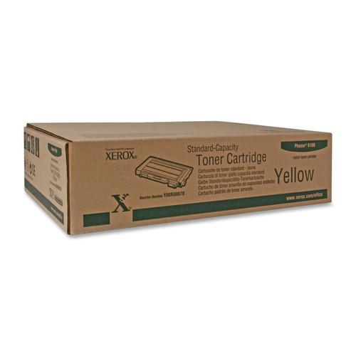 106R00678   Original Xerox Color Laser Toner Cartridge - Yellow