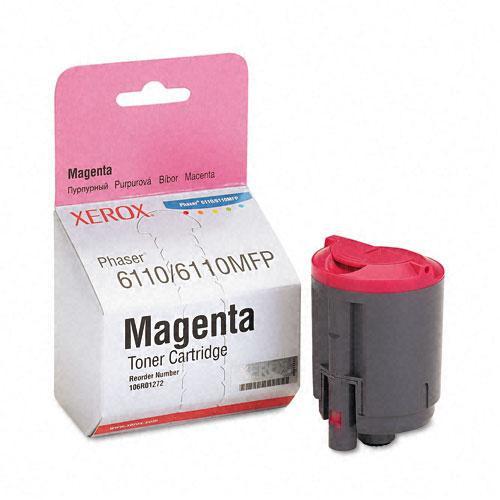 Original Xerox 106R01272 Magenta Laser Toner Cartridge for Phaser 6110/6110MFP Series