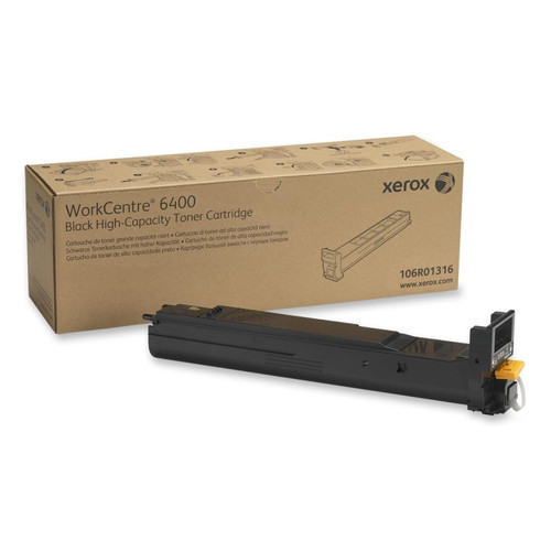 106R01316   Original Xerox WorkCentre 6400 Toner Cartridge - Black