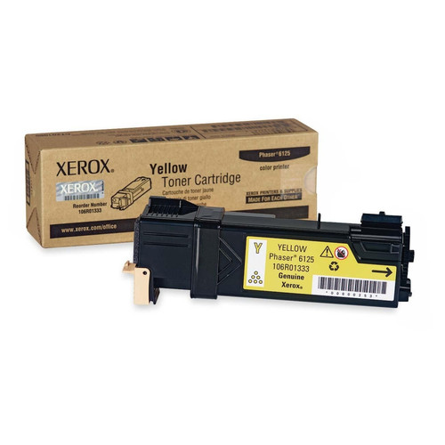 106R01333 | Original Xerox Laser Toner Cartridge - Yellow