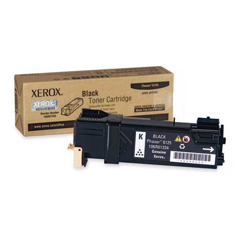 106R01334 | Original Xerox Laser Toner Cartridge - Black