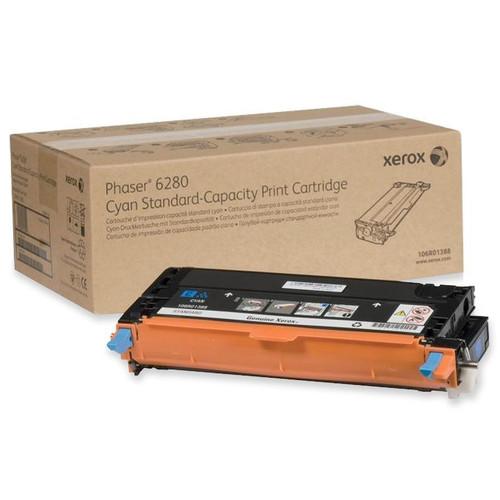 106R01388 | Original Xerox Laser Toner Cartridge - Cyan