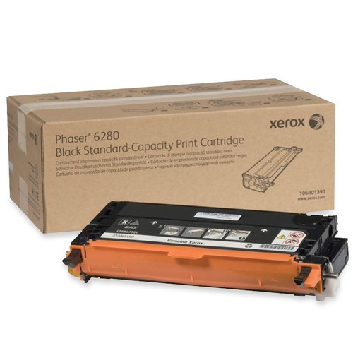 106R01391 | Original Xerox Laser Toner Cartridge - Black