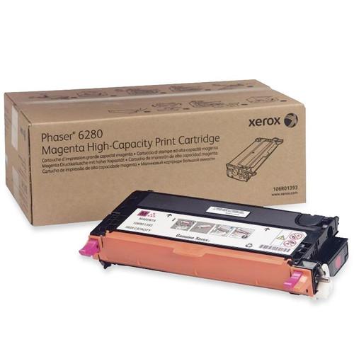 106R01393 | Original Xerox High-Yield Laser Toner Cartridge - Magenta