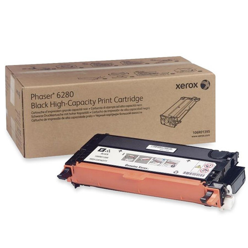 106R01395 | Original Xerox High-Yield Laser Toner Cartridge - Black