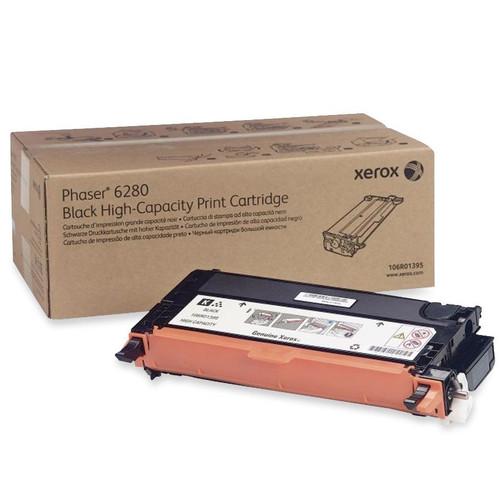 106R01395 | Original Xerox High-Yield Laser Toner Cartridge - Black