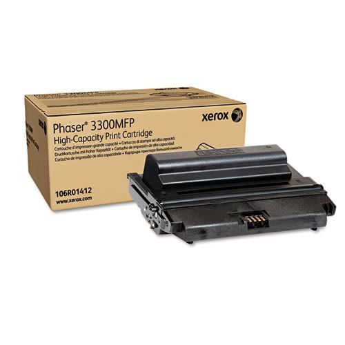 Original Xerox 106R01412 Black High-Yield Laser Toner Cartridge for Phaser 3300