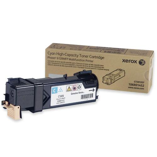 106R01452   Original Xerox Laser Toner Cartridge - Cyan