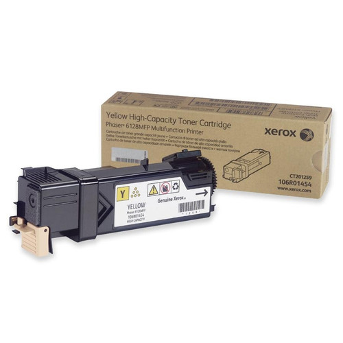 106R01454 | Original Xerox Laser Toner Cartridge - Yellow