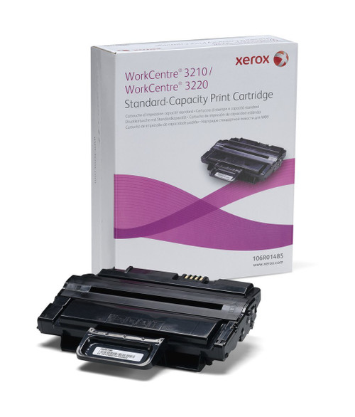 Original Xerox 106R01485 Standard-Capacity Black Laser Toner Cartridge for Workcentre 3210 and 3220