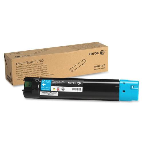 106R01507 | Original Xerox Phaser 6700dn High-Capacity Toner Cartridge - Cyan