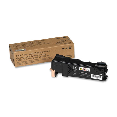 106R01597 | Original Xerox  Phaser 6500 High-Capacity Toner Cartridge - Black