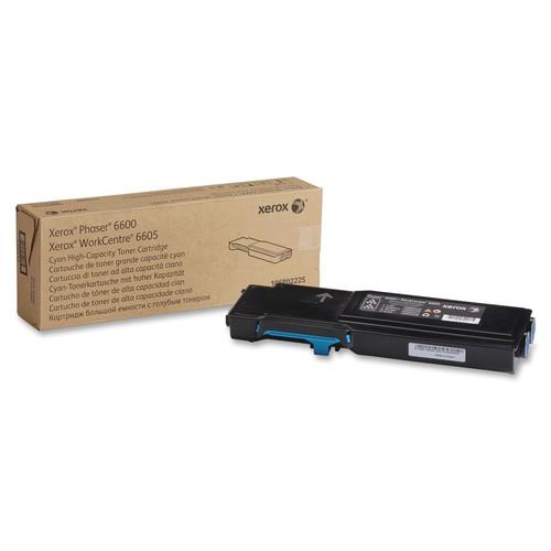 106R02225   Original Xerox Toner Cartridge - Cyan