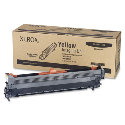 Original Xerox 108R00649 Laser Imaging Unit for Phaser 7400  Yellow