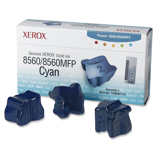 108R00723   Original Xerox Ink Cartridge 3-Pack – Cyan