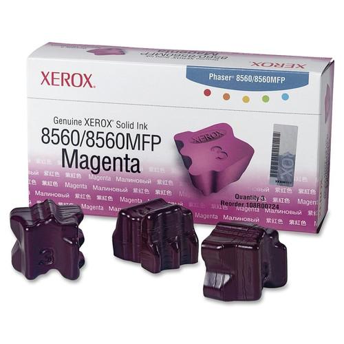108R00724 | Original Xerox Ink Cartridge 3-Pack – Magenta