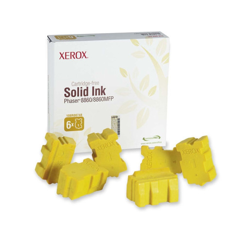 108R00748   Original Xerox Ink Cartridge 6-Pack – Yellow