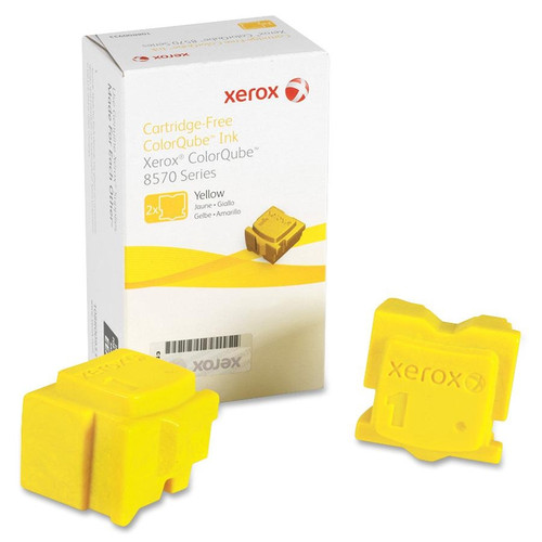 108R00928 | Original Xerox For Phaser ColorQube 8570 8580 Ink - Yellow