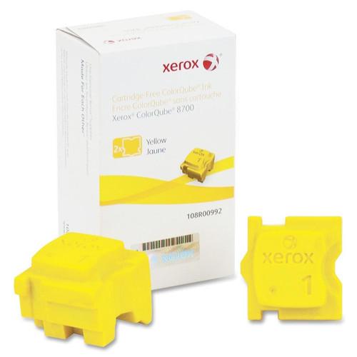 108R00992   Original Xerox Ink Cartridge 2-Pack – Yellow