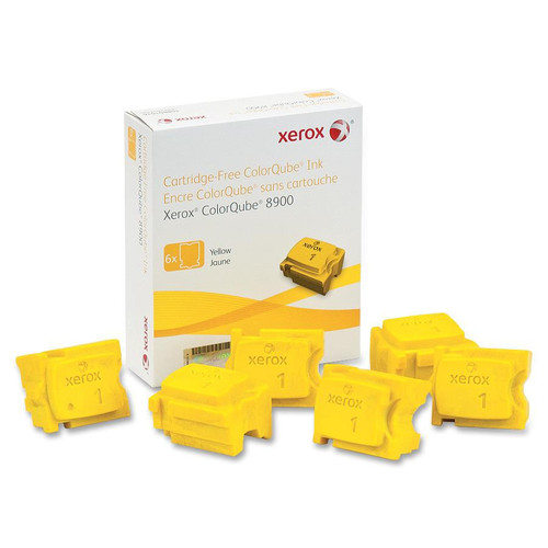 108R01016   Original Xerox Ink Cartridge 6-Pack – Yellow