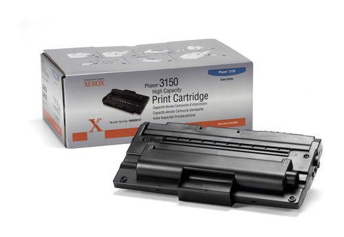 Original Xerox 109R00747 Black High Capacity Toner Cartridge for Phaser 3150