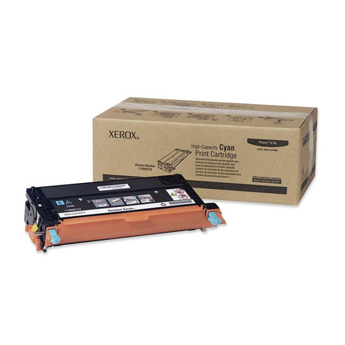 113R00723   Original Xerox High-Yield Toner Cartridge – Cyan