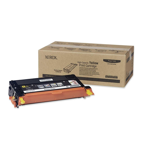 113R00725   Original Xerox High-Yield Toner Cartridge – Yellow