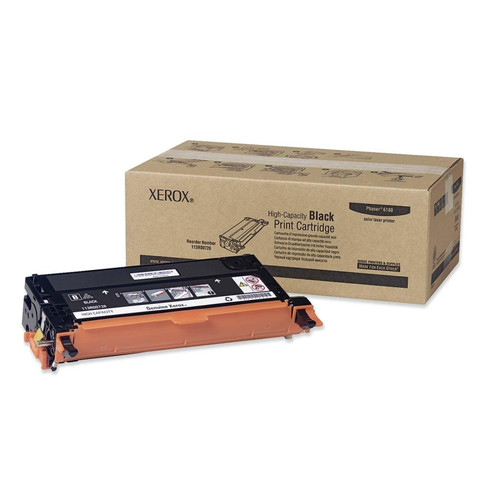 113R00726 | Original Xerox High-Yield Toner Cartridge – Black