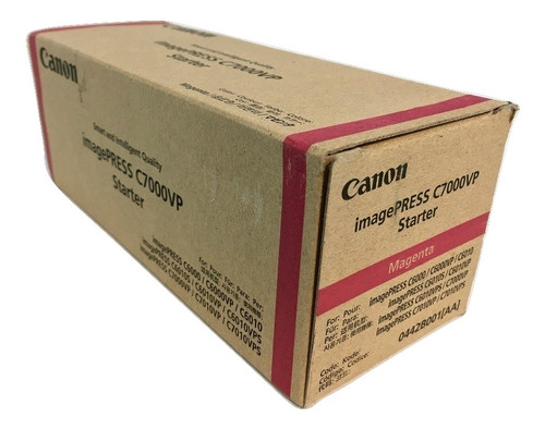 Original Canon Ipq-2 0442B001AA Magenta Toner Starter