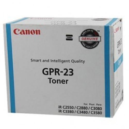 Original Canon GPR-23 0453B003AA Cyan Laser Toner Cartridge