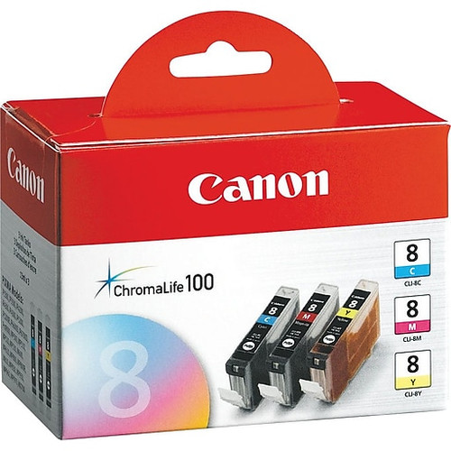 Original Canon Cli-8 0621B016 Ip4200 3 Color Pack