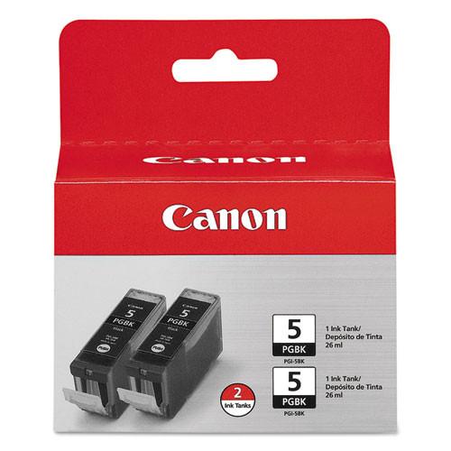 Original Canon Pgi-5 0628B009 Pixma Ip4200 Black 2 Pack