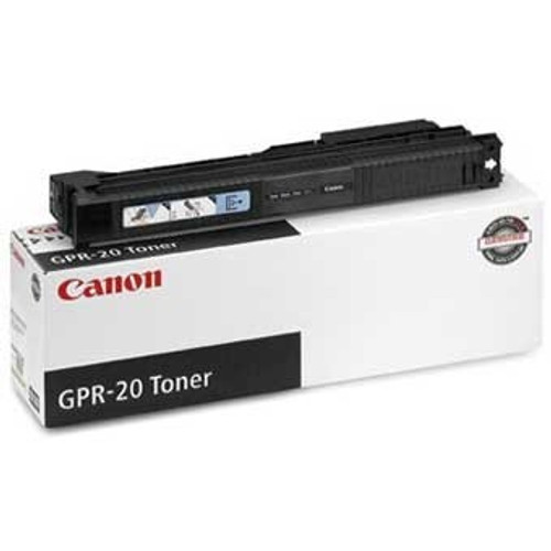 Original Canon GPR-20 1069B001AA Black Laser Toner Cartridge