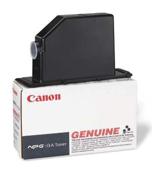 Original Canon NPG-13A 1384A001AA Black Toner Cartridge