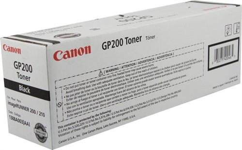 Original Canon GP-200 1388A003AA Black Laser Toner Cartridge