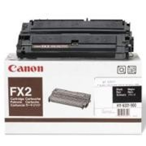 Original Canon FX-2 1556A002BA Black Laser Toner Cartridge