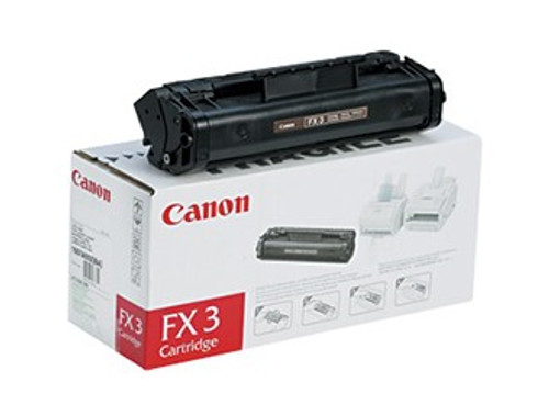 Original Canon FX-3 1557A002BA Black Laser Toner Cartridge
